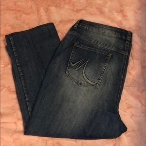 Maurice's size 22 very soft jeans short